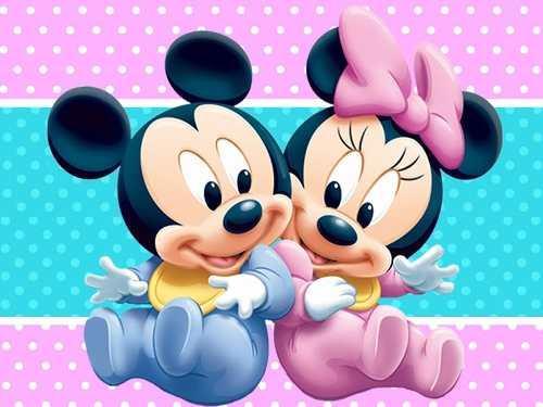 Kit Imprimible Mickey y Minnie Bebe - Decoraciones, Cajitas e ...