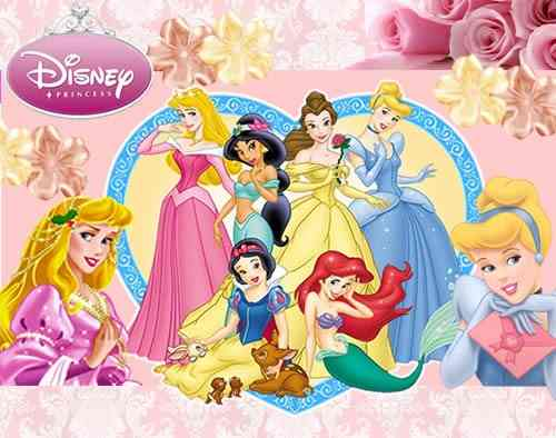 Kit Imprimible Princesas Disney - Decoraciones, Cajitas e ...