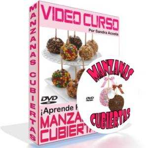 Video Curso Manzanas Cubiertas - con Chamoy, Chocolate