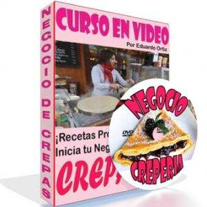 Video Curso de Crepas para Negocio