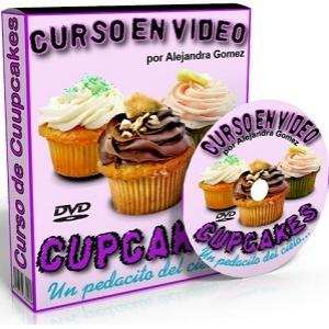 Video Curso de Cupcakes Decorados Paso a Paso