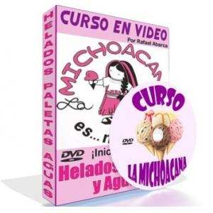 Video Curso de Helados, Paletas y Aguas La Michoacana